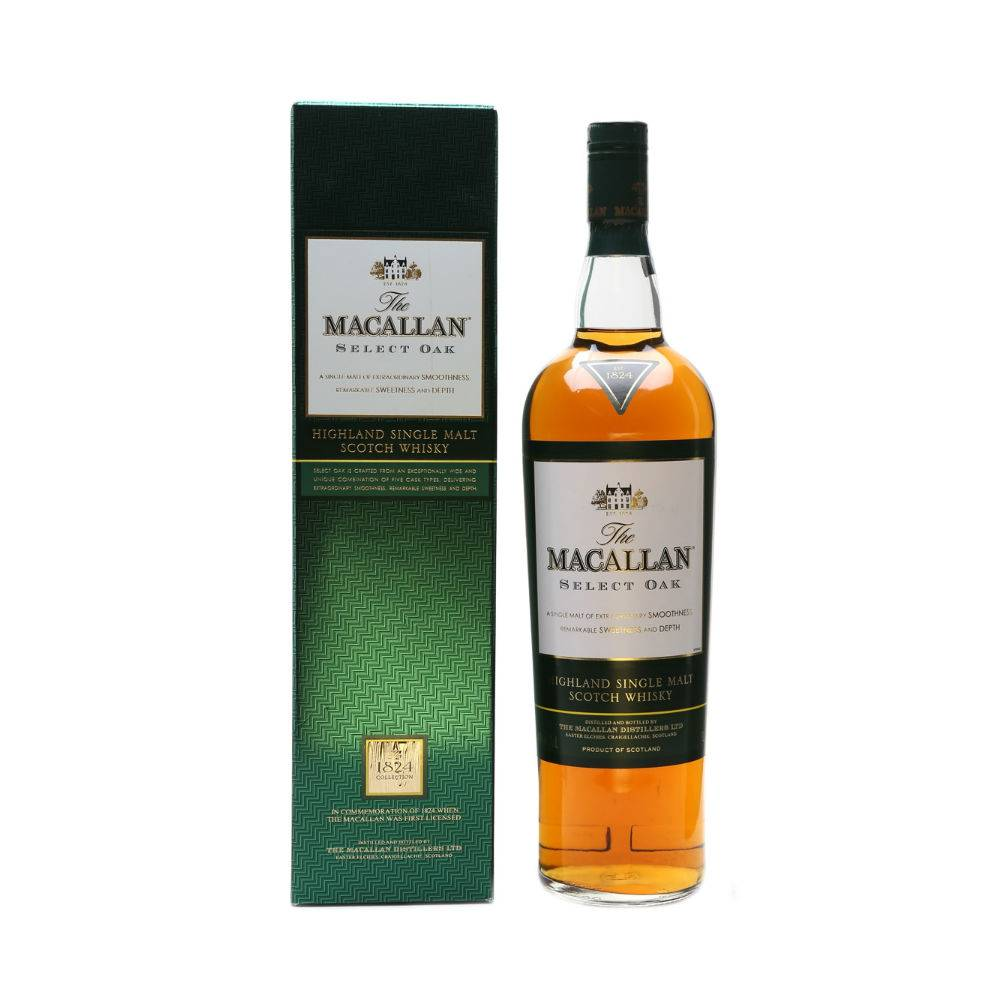 """Виски """"макаллан файн ок"""" (macallan fine oak) 12 лет односолодовый 1,75л крепость 40% в п/уп (виски), купить в интернет-магазине «вино-сити»"""