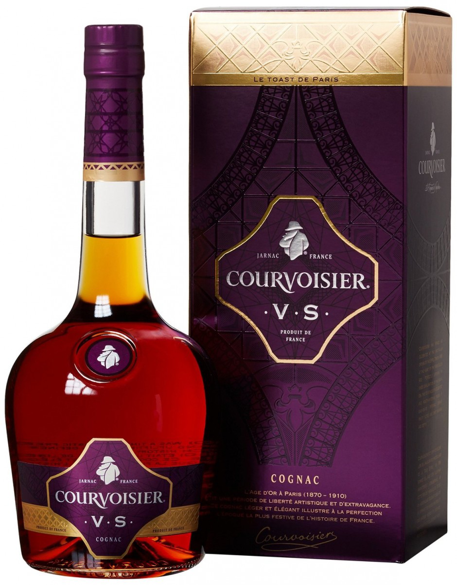 Обзор французского коньяка Courvoisier
