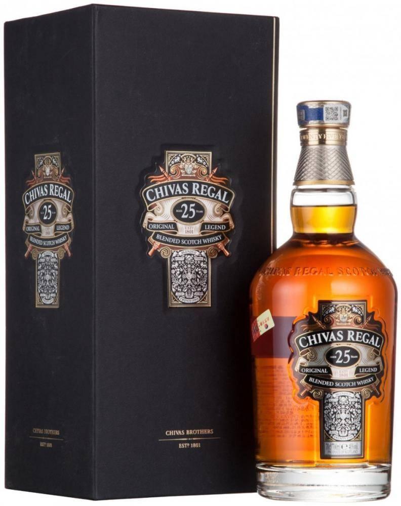Пробую виски chivas regal - ожидания и реальность