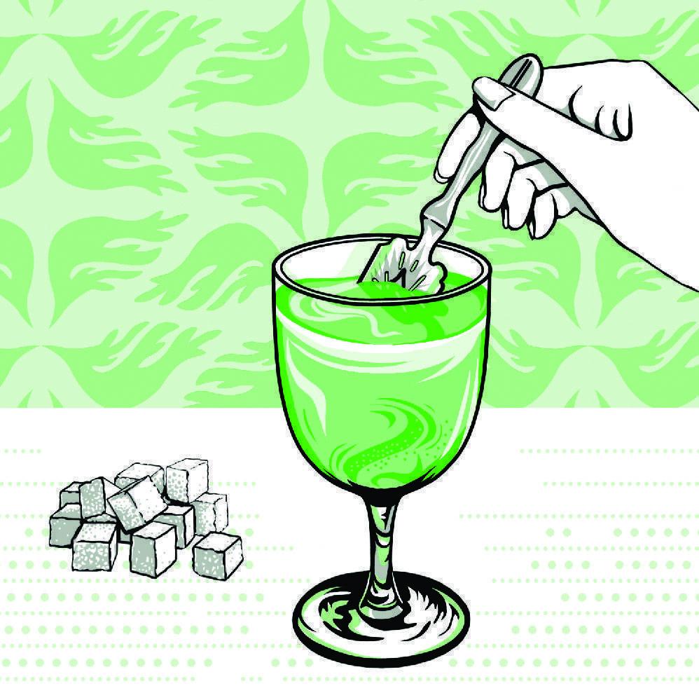 Как правильно пить абсент  видео.  как пить абсент видео