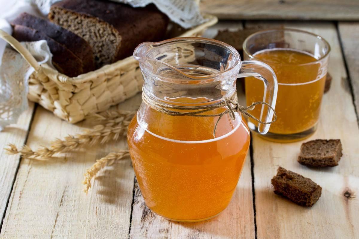 Квас на березовом соке рецепт с ячменем