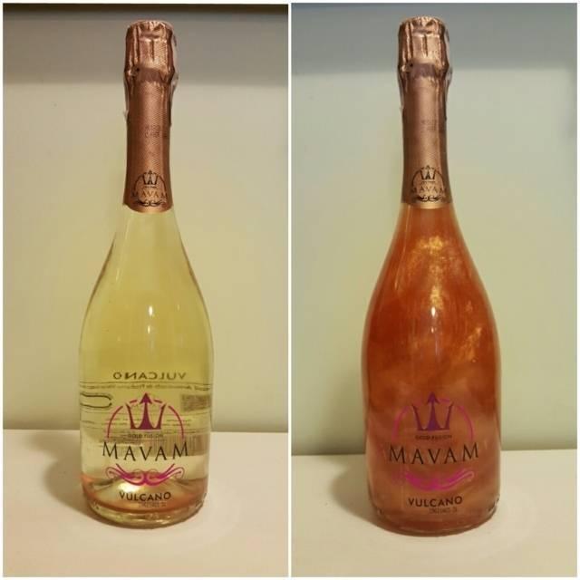 Шампанское с блестками (перламутровое) и его особенности