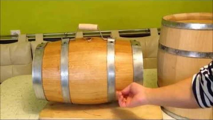 Подготовка дубовой бочки для самогона, коньяка, виски и прочего