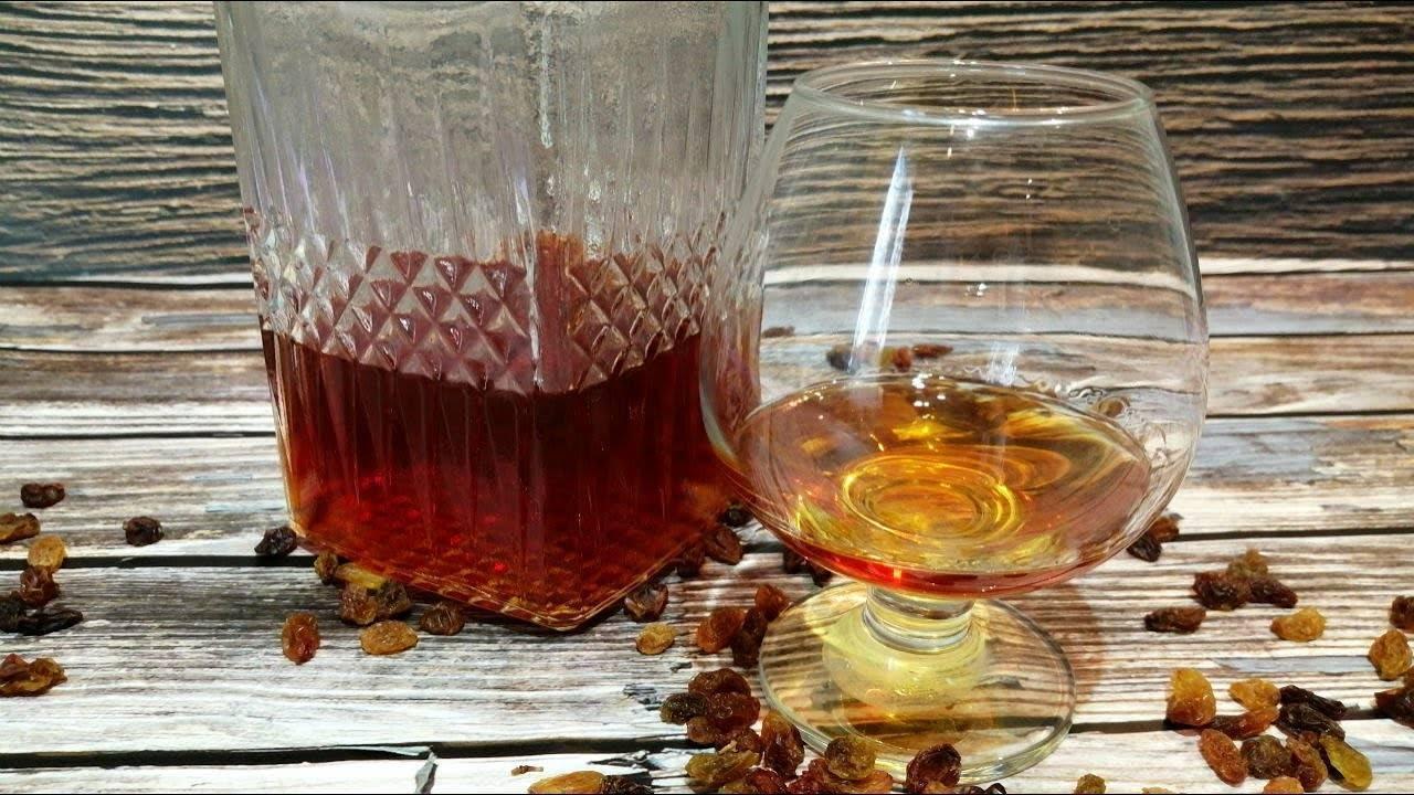 Изюмовка – настойка водки (самогона, спирта) на изюме