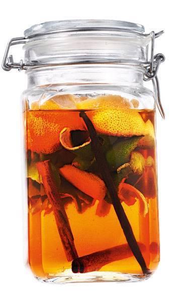 Настойка на спирту из апельсинов