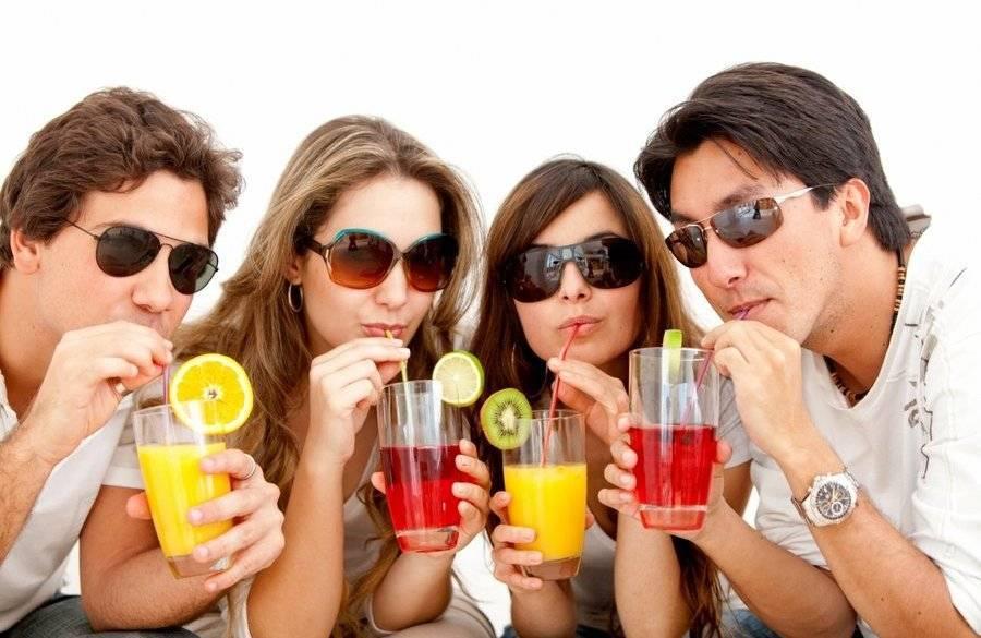 Что пить вместо алкоголя