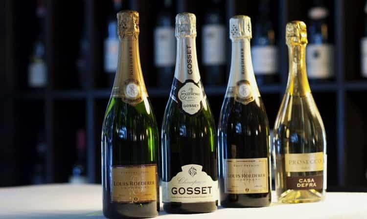 Калорийность шампанского — сколько калорий в бокале полусладкого, брют и сухого на 100 грамм?
