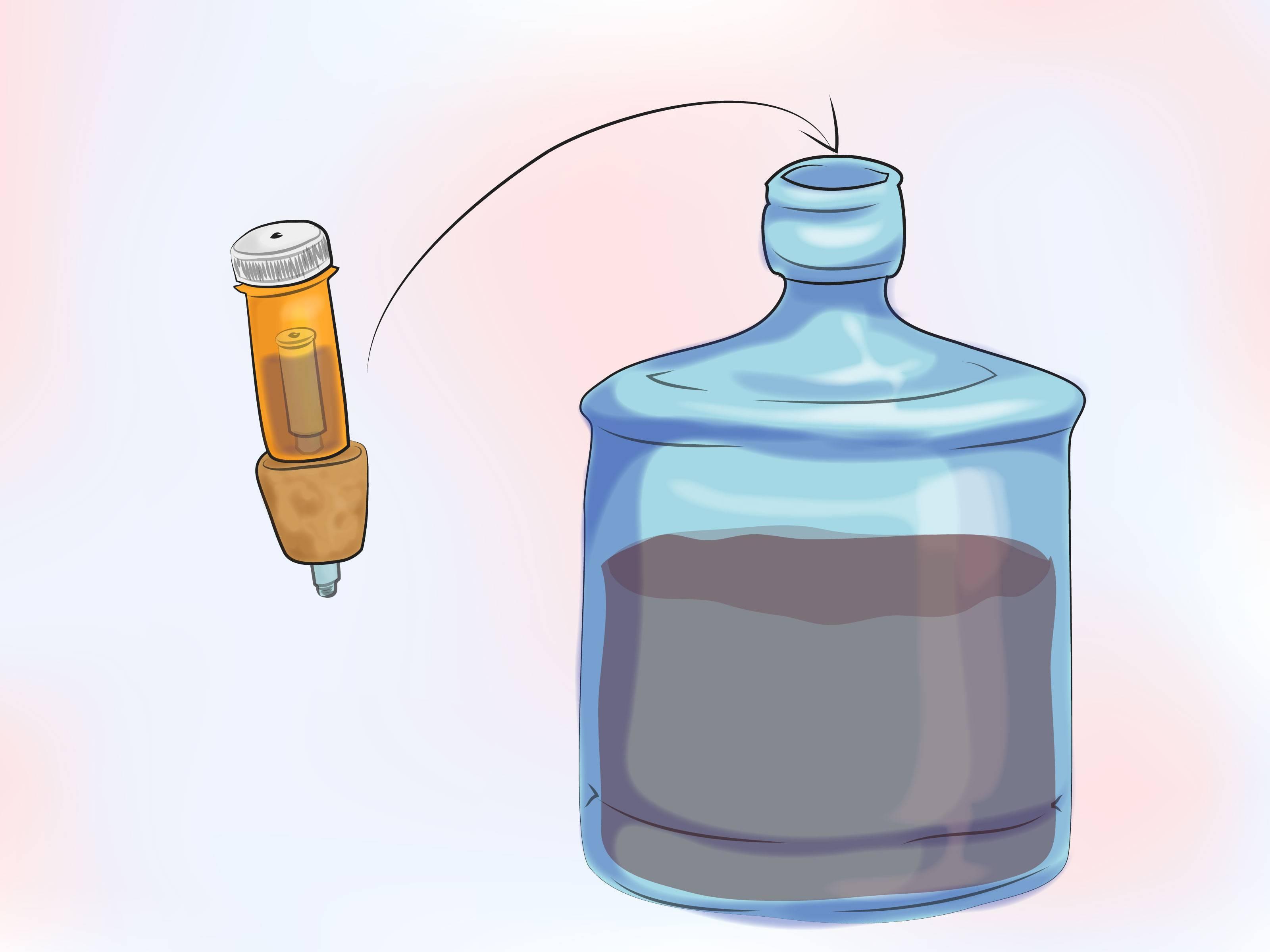 Конструкция гидрозатвора для вина и браги, изготовление из подручных материалов своими руками