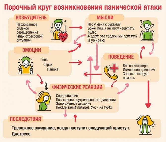 Механизм и причины появления панической атаки после алкоголя