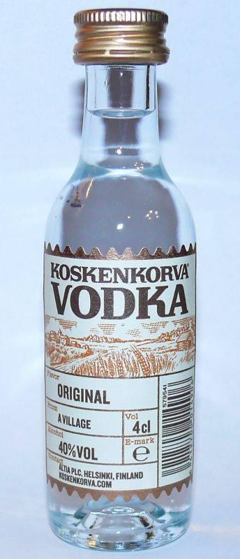 «коскенкорва» - водка превосходного качества