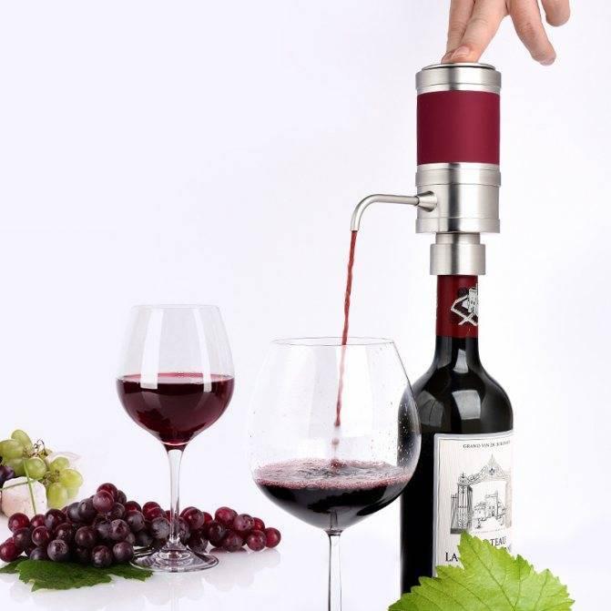 Аэратор для вина, назначение, разновидности и лучшие производители