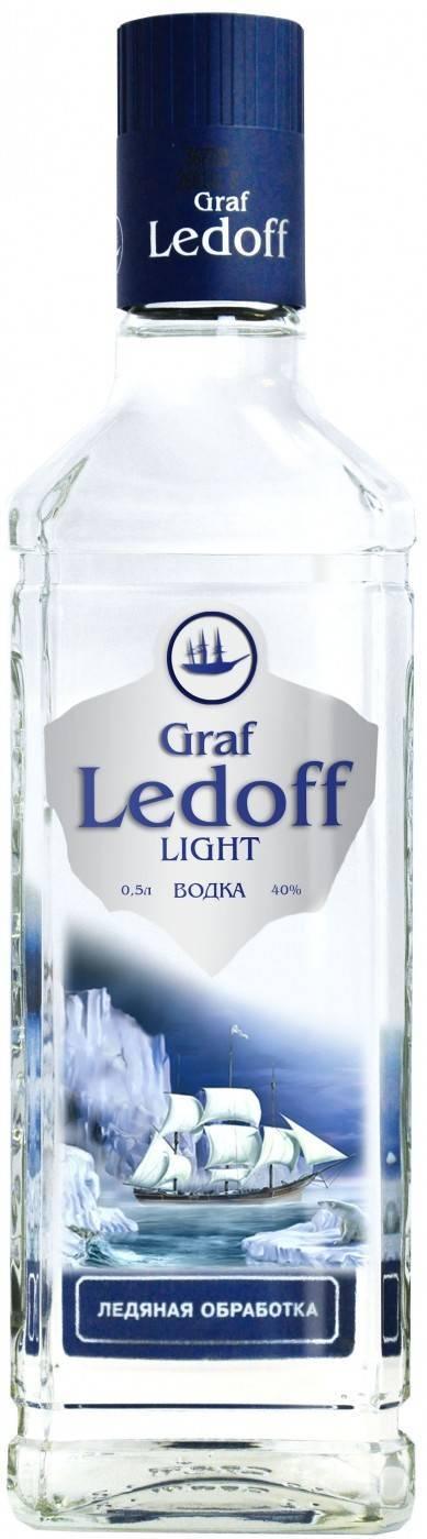 Водка «граф ледофф» (graf ledoff): описание, состав, отзывы
