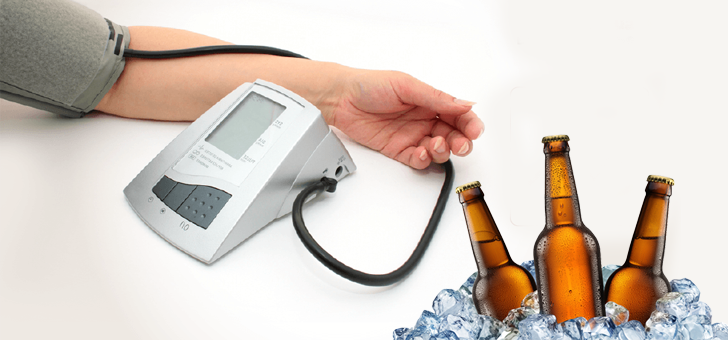 Пиво понижает или повышает давление