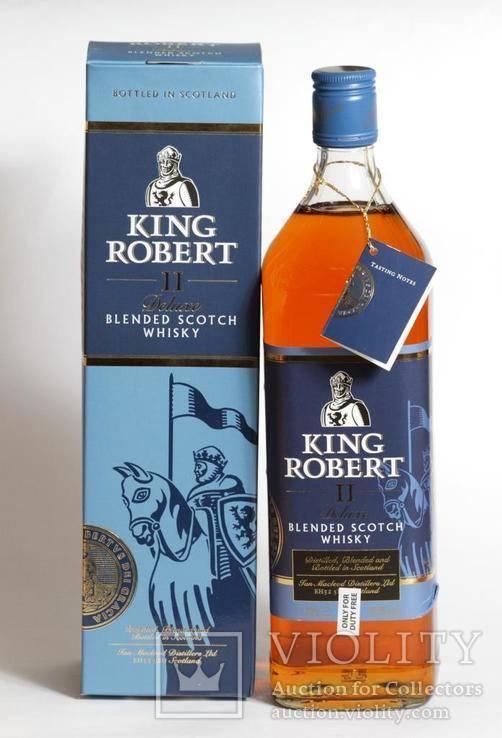 Виски king robert ii (король роберт ii) – особенности марки