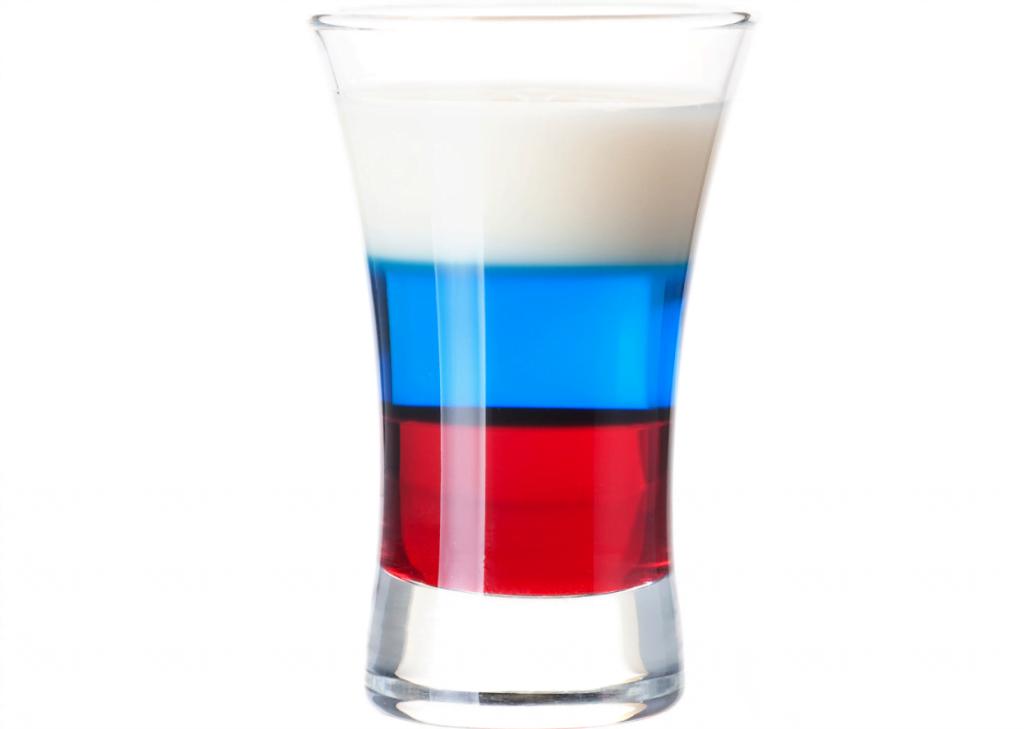 Рецепты приготовления коктейля российский флаг. пошаговый рецепт с фото и видео флан блюдо
