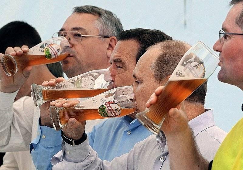 Какое пиво пьет путин? какие другие алкогольные напитки он предпочитает