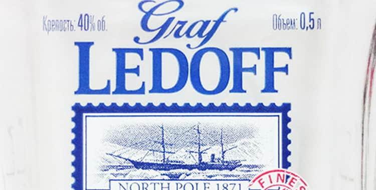 Водка «граф ледофф» (graf ledoff): описание, цена и отзывы