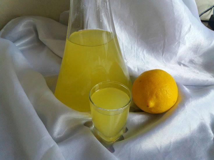 Лимонная настойка на водке рецепт: в домашних условиях с фото