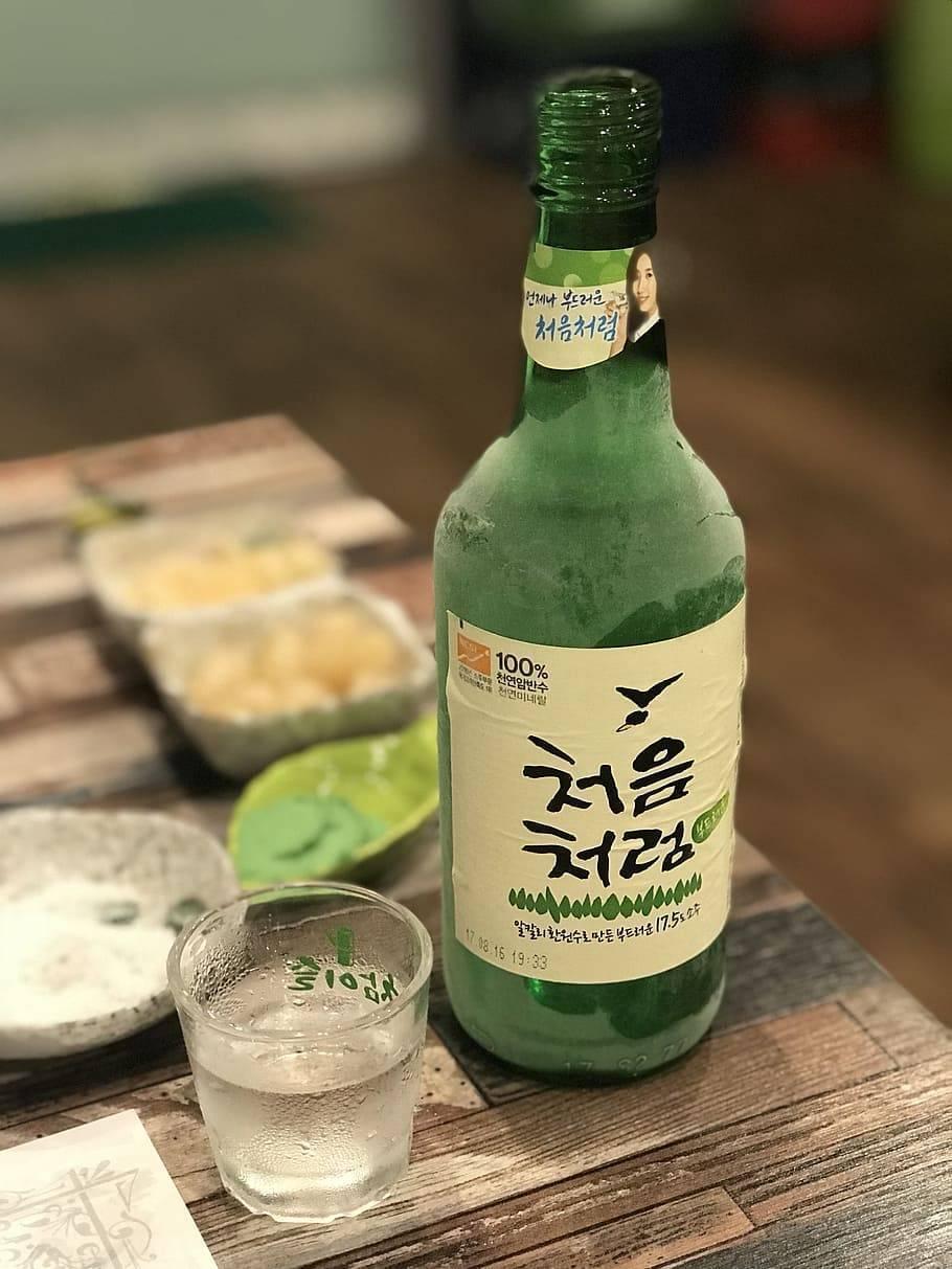 Соджу – сладкая корейская водка