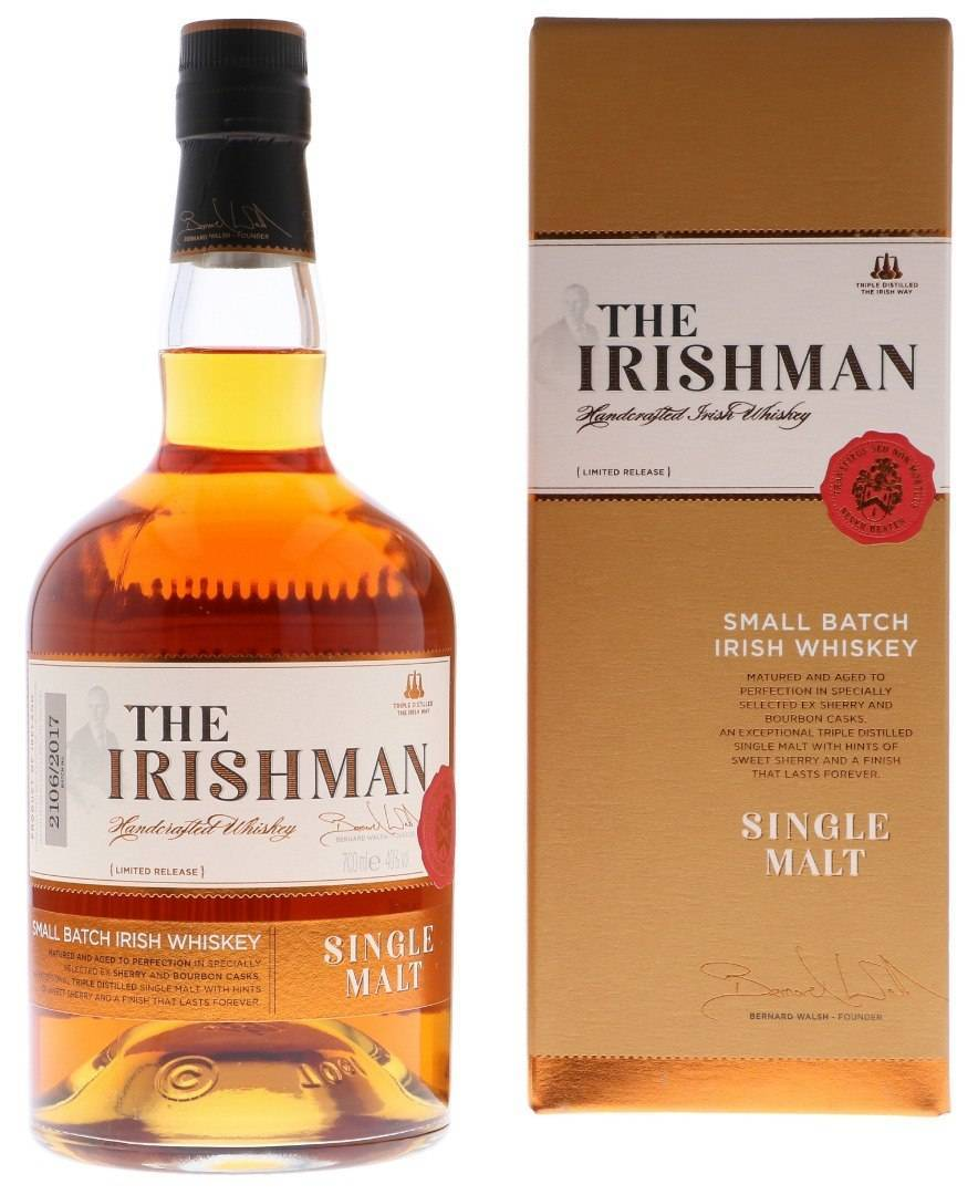 Обзор виски irishman (айришмен)