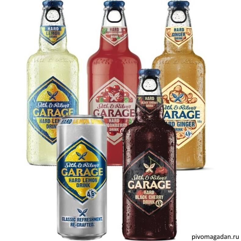 Напиток seth&riley`s garage или пиво гараж — описание и отзывы