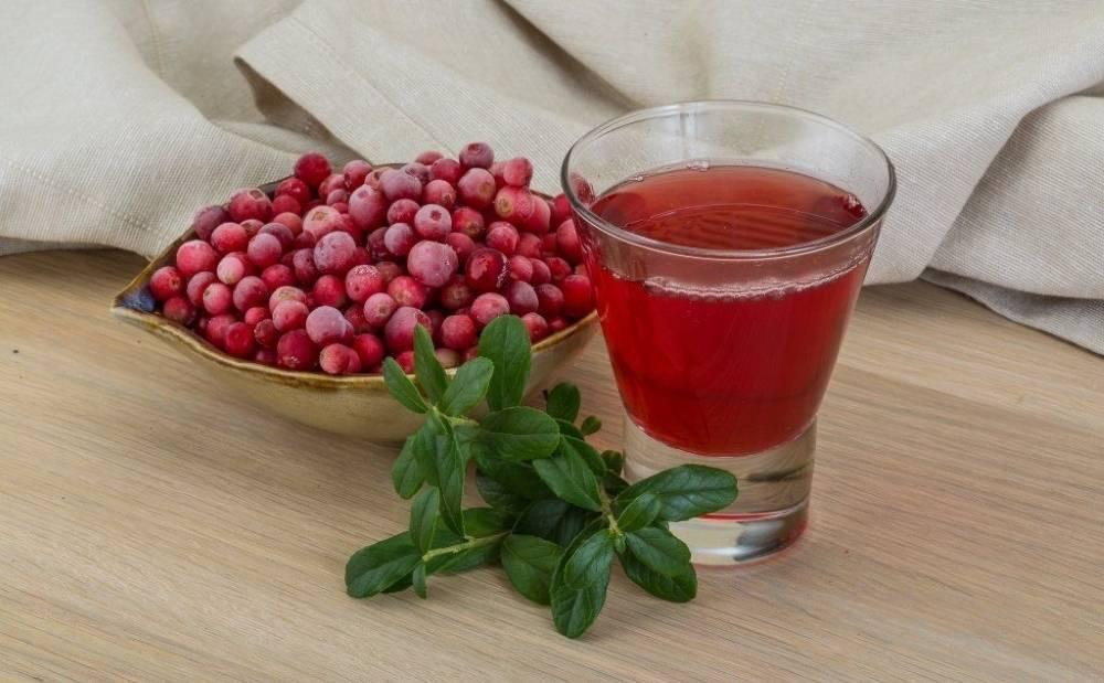Настойка из брусники - быстрые и вкусные домашние рецепты