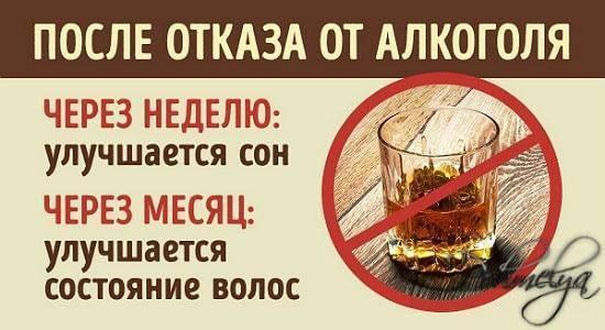 Польза и изменения в организме после отказа от алкоголя.