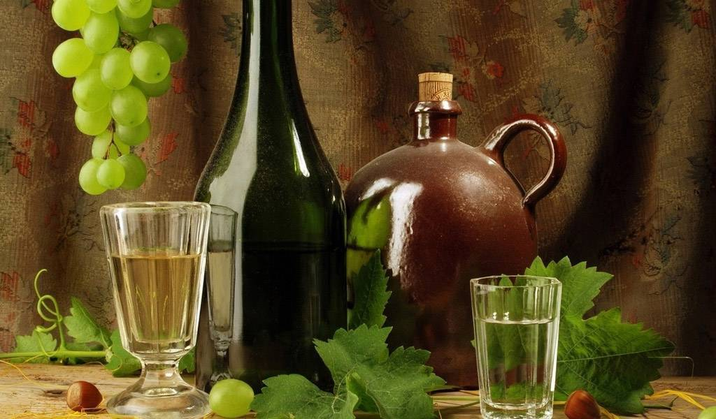 Рецепты самогона (чачи) из винограда в домашних условиях