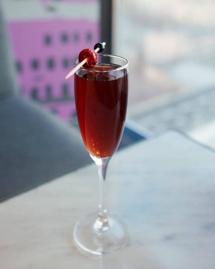 Рецепт коктейля «кир» и «кир рояль» - аперитивы с crème de cassis
