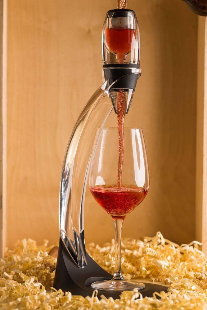 Для чего нужен аэратор вина: советы от специалистов ценителям напитка