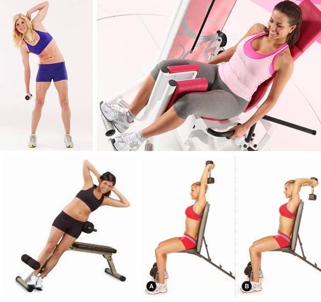 Упражнения для похудения в тренажерном зале: 8 лучших упражнений
