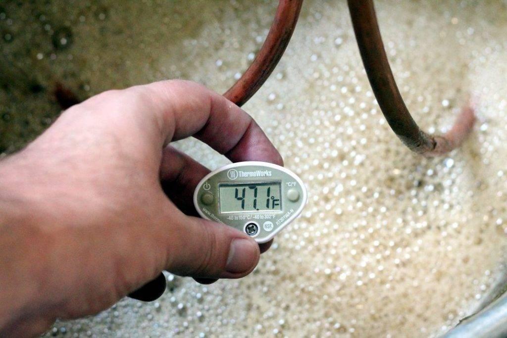 Оптимальная температура кипения спирта в самогоноварение