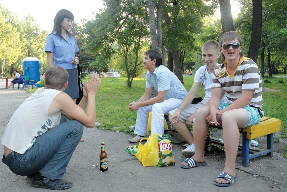 Разрешает ли закон пить пиво на улице и во дворе? »  познавательный блог