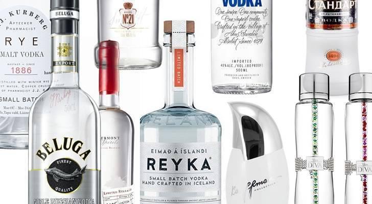 Рейтинг лучшей водки в россии