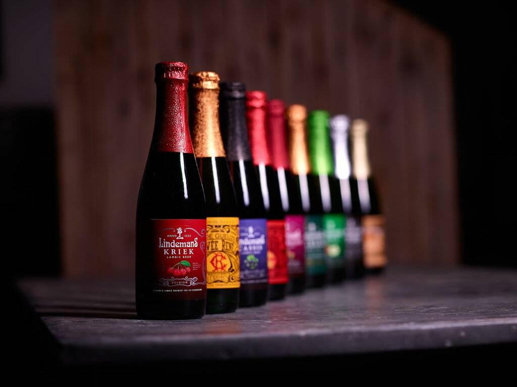 Вишневое пиво из бельгии