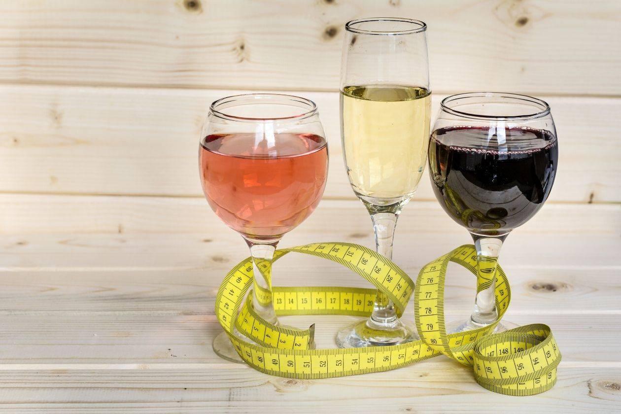 Употребление алкоголя при диете – какое вино разрешено. фото, видео.