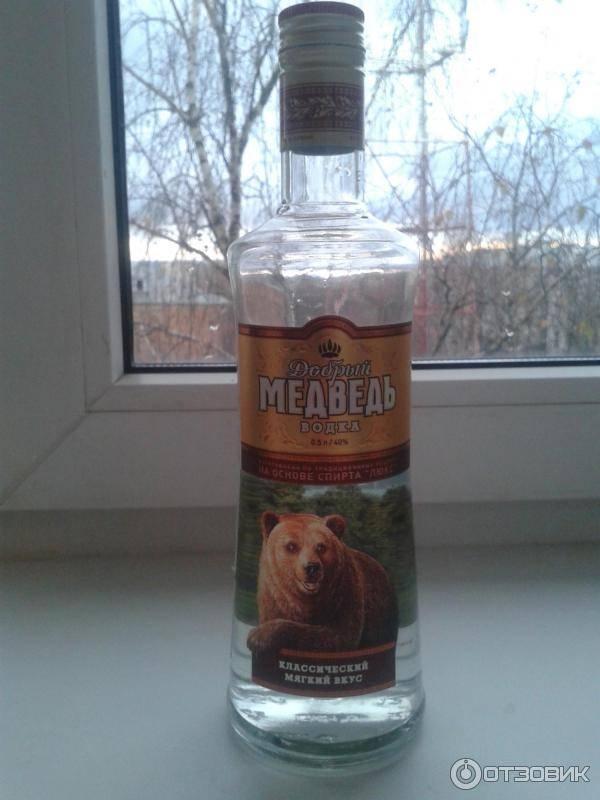 Водка Медведь