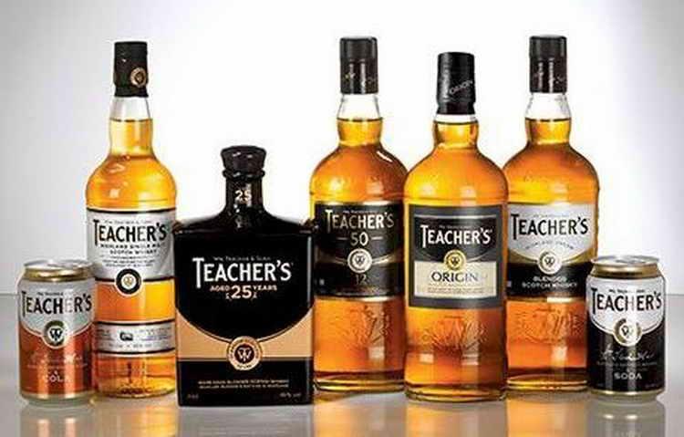 "Виски ""тичерс хайланд крим"" (teacher's highland cream) купажированный 0,7л крепость 40% (виски), купить в интернет-магазине «вино-сити»"