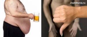 Влияние алкоголя на потенцию у мужчин: правда и факты