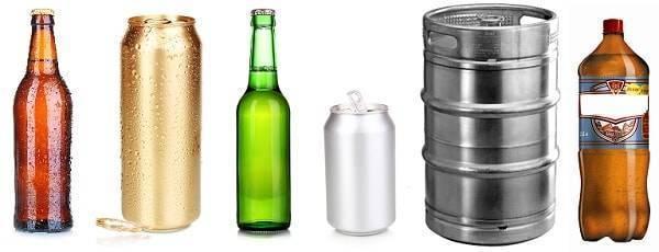 Условия и сроки хранения пива