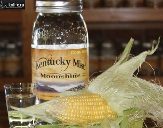 Самогон из кукурузы, основа для бурбона – кулинарный рецепт