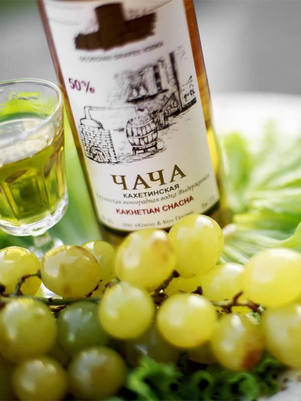 Обзор виноградной водки