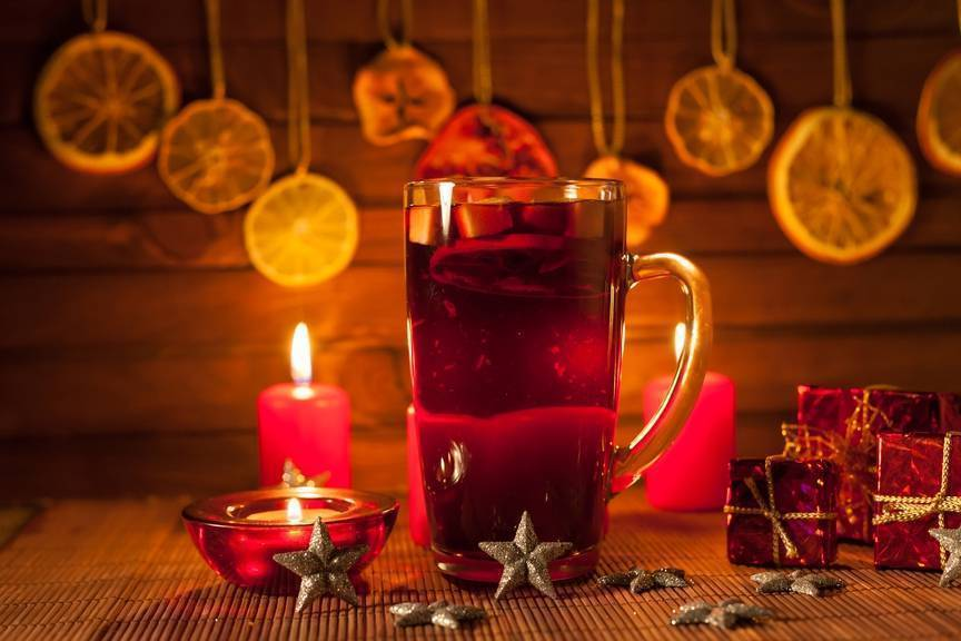 Рождественские напитки с алкоголем: топ-5 популярных рецептов. совет