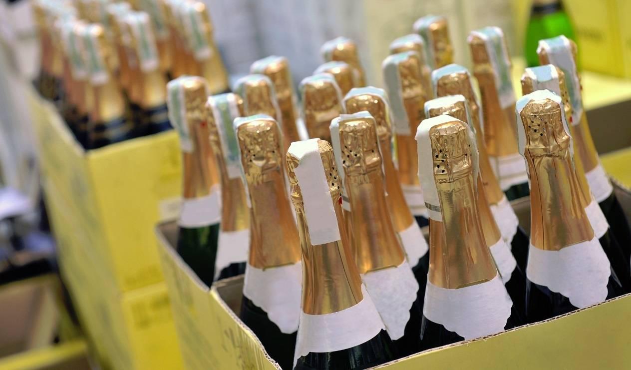 Сколько бутылок в ящике шампанского? | bezprivychek.ru