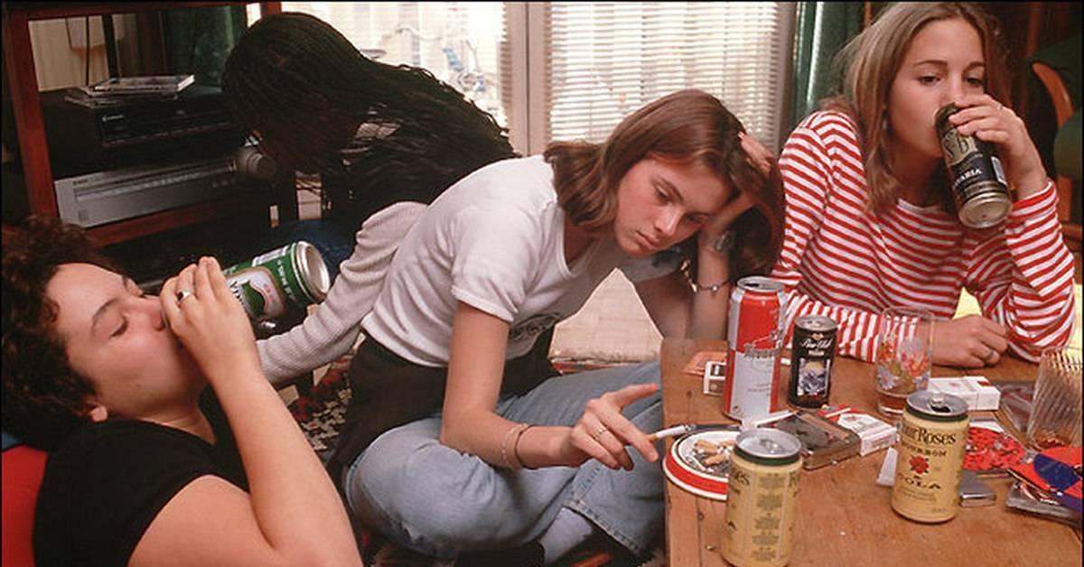Подростковый алкоголизм как социальная проблема - ида тен