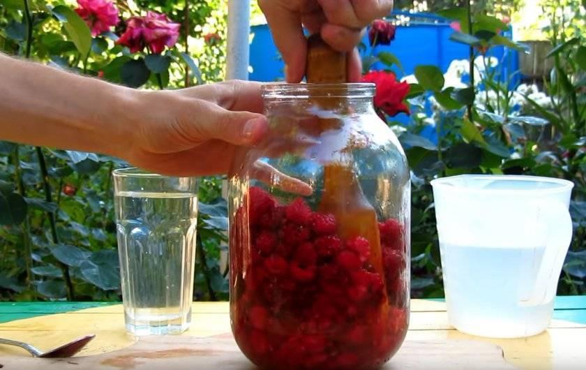 Наливка из малины домашний рецепт с фото