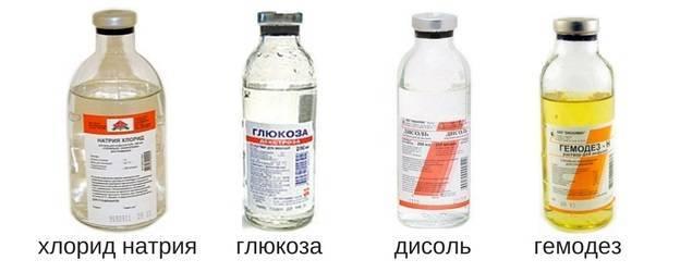 Капельницы для очищения организма от токсинов: список