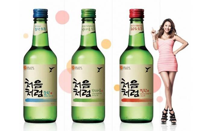 Соджу сколько градусов в крепкой корейской водке
