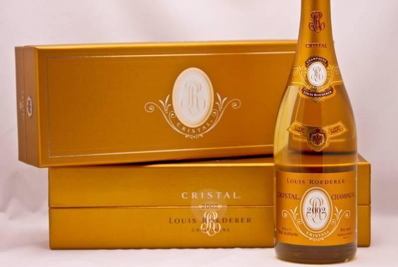 Шампанское кристалл — история появления напитка и его характеристика