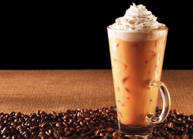 Коктейли на основе кофе с ликером